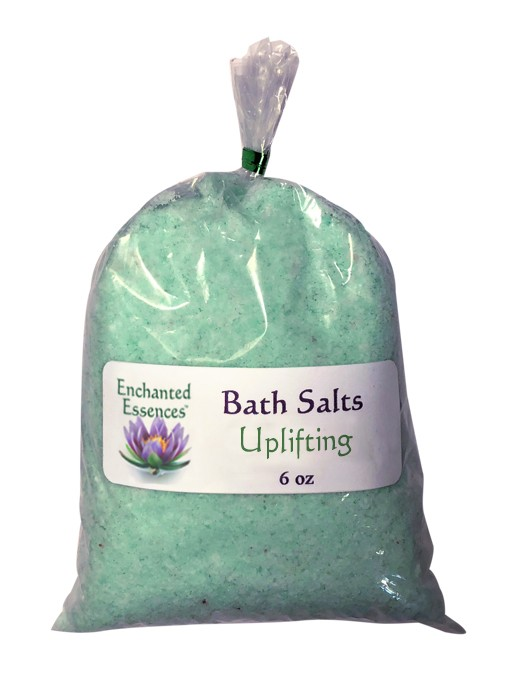 Uplifting Bath Salts Refill for the Glass Jar