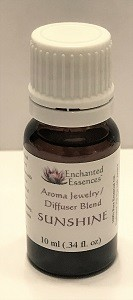 """Sunshine"" Essential Oil Blend for Jewelry and Diffusers 10ml"