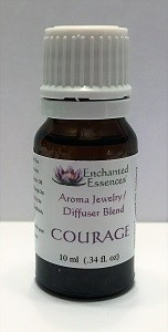 """Courage"" Essential Oil Blend for Jewelry and Diffusers 10ml"