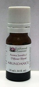 """Abundance"" Essential Oil Blend for Jewelry and Diffusers 10ml"
