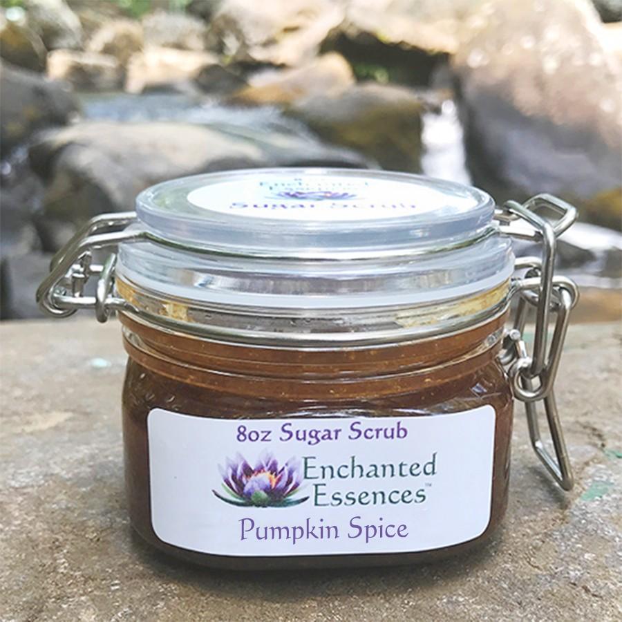 Pumpkin Spice Sugar Scrub: 8 oz.