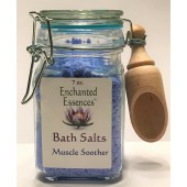 Muscle Soother Bath Salts Jar