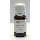 """Holiday Spice"" Essential Oil Blend for Jewelry and Diffusers 10ml"