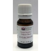 """Evergreen"" Essential Oil Blend for Jewelry and Diffusers 10ml"