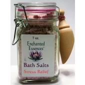 Stress Relief Bath Salts Jar