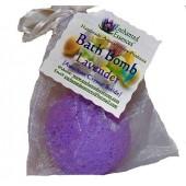 Bath Bomb with Amethyst Crystal Inside, Lavender